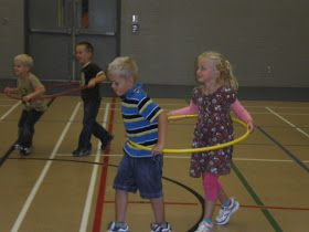 Kindergarten PE game - Cars