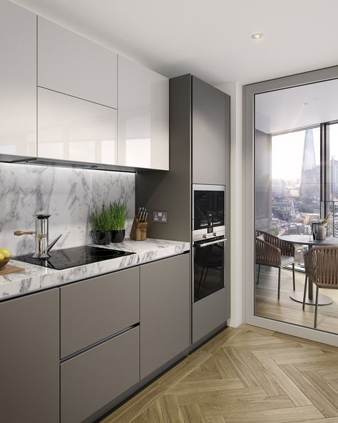 ©ArcMedia – Two Fifty One Kitchen - CGI architectural visualisation