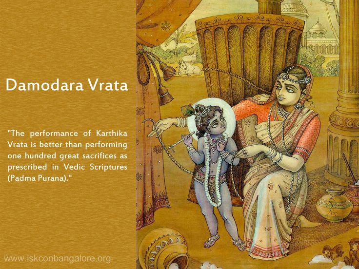 Damodara Vrata significance