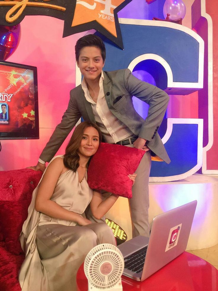 This is the handsome Daniel Padilla and the pretty Kathryn Bernardo smiling for the camera while having a good quality time during ASAP Chillout during Star Magic Day and Star Magic 24th Anniversary on ASAP at ABS-CBN Studio 10 last July 31, 2016. Indeed, KathNiel is my favourite Kapamilya love team and they're amazing Star Magic talents. #KathrynBernardo #TeenQueen #DanielPadilla #KathNiel #KathNielBernaDilla #StarMagic24 #starmagic24thanniversary #ASAP #ASAPChillout #ASAPMagicalSunday