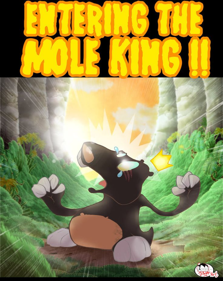 Entering The Mole King by the-BATT-ART on DeviantArt