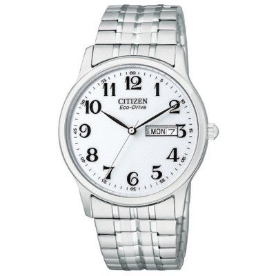 Citizen - Men\'s Silver Expansion Eco-Drive Watch - BM8450-94B - RRP: £99.95 - Online Price: £78.00