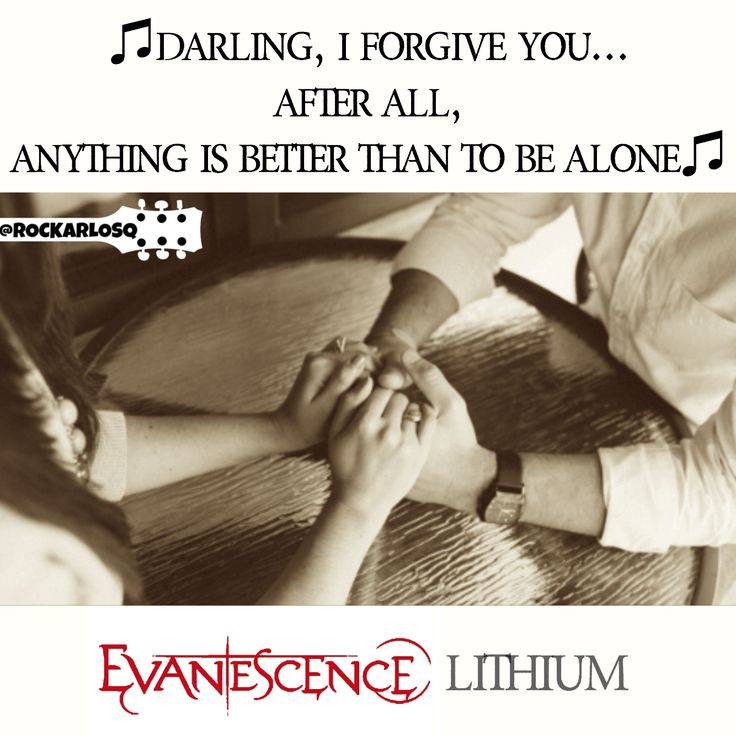 ♫Darling, I forgive you...  After all, anything is better than to be alone♫ #Evanescence #Lithium #AmyLee   #lyrics #lyricstoliveby #lyricsoftheday #relatablelyrics #love #qotd #favoritesong #bestsong #listentothis #goodmusic #instamusic #relatedlyrics #quotes #instatext #textgram #quotesdaily #versagram #quotesgram #tweetgram #songquote #inspiration #tagstagramers #tagsta