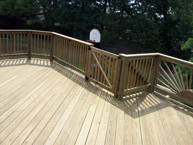 Wood Deck And Gate With Boards On 45 Degree Angle Wood Decks Pinterest Degree Angle And