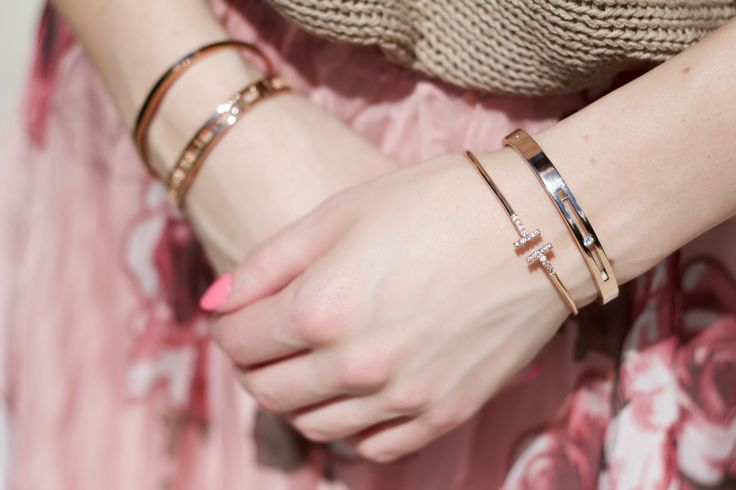 Bangles from @thepeachbox