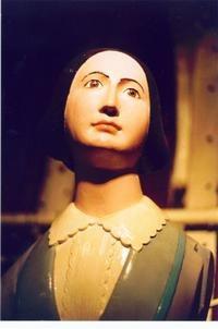 Florence Nightingale figurehead, Figurehead collection, National Maritime Museum, Cutty Sark,London