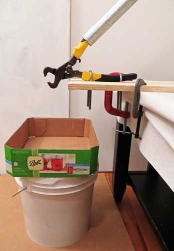 How To Mount A Mosaic Tile Nipper For Easier Cutting It is easy to mount a mosaic nipper to a scrap piece of plywood and ...