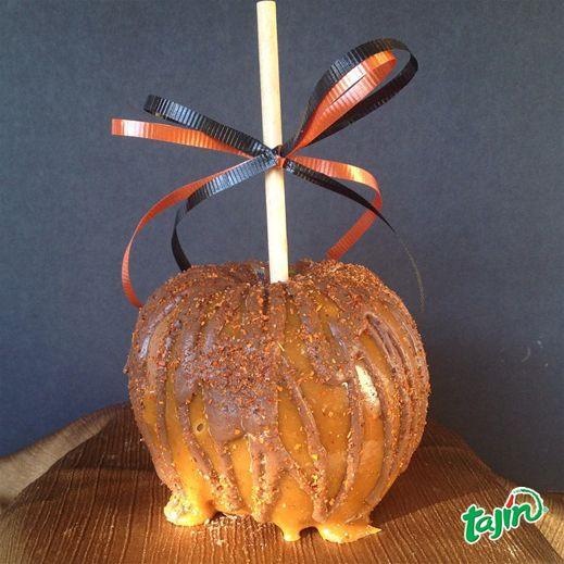 Apple with Tajin #creativefood // Combinación de caramelo y Tajin