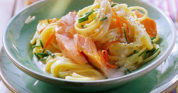 Les linguines au saumon et à la sauce citron : le plat qui va vous régaler tout l'été !