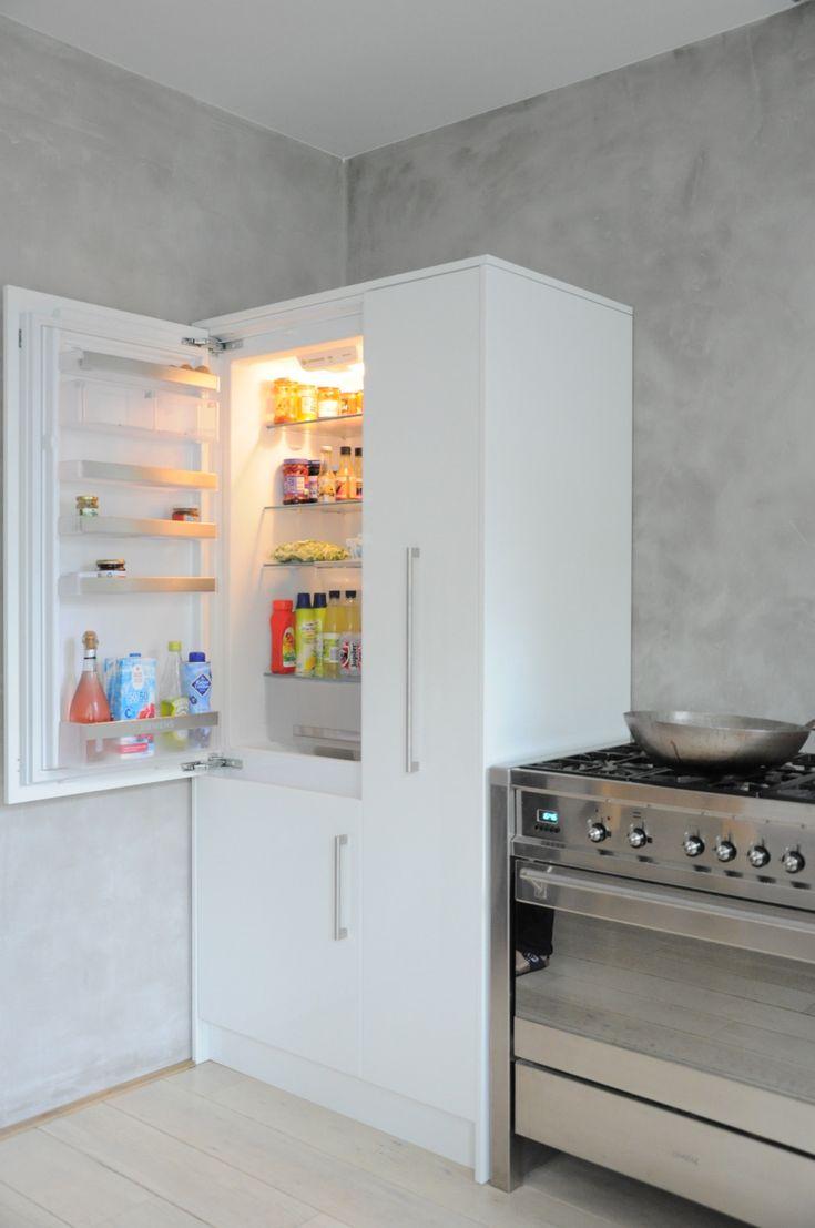 25 beste idee n over rvs koelkast op pinterest for Goedhart deuren