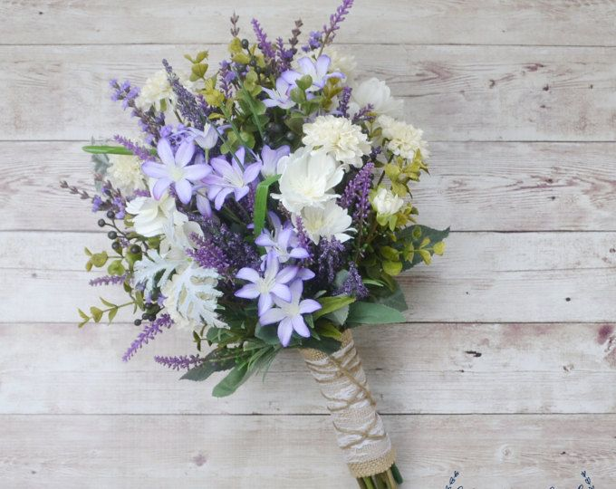 Wildflower Brautstrauss Rustikale Bouquet Lavendel Cheap Wedding Flowers Boho Wedding Bouquet Wildflower Wedding Bouquet