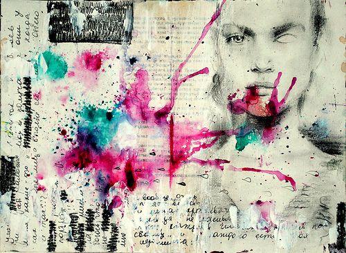 sketchbook/art journal/page