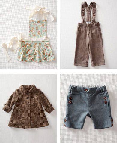 Love these items, especially the shorts.  So hard to find cute clothing for boys.  Also love the apron.  Reminds me of one I had as a child.