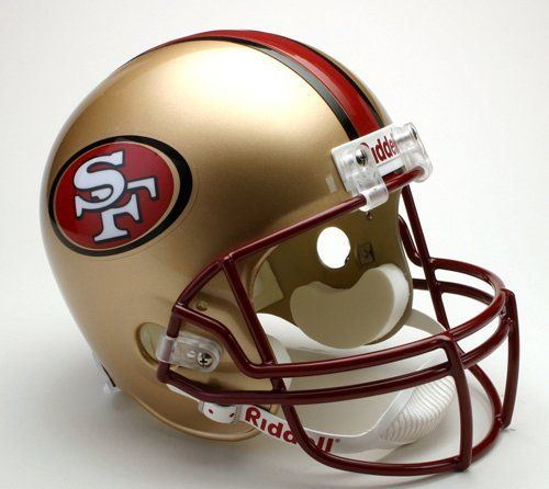Riddell San Francisco 49ers Deluxe Replica 1996-2008 Football Helmet Full Size by Riddell. Riddell San Francisco 49ers Deluxe Replica 1996-2008 Football Helmet Full Size. Full Size.