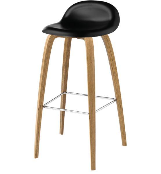 gubi 3da counter stool hirek seat