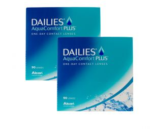 DAILIES AquaComfort Plus™ 2x90 Stk.