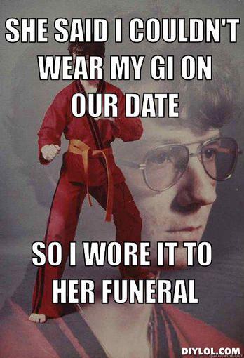f0612c301d Karate Gi Car Memes karate kyle memes