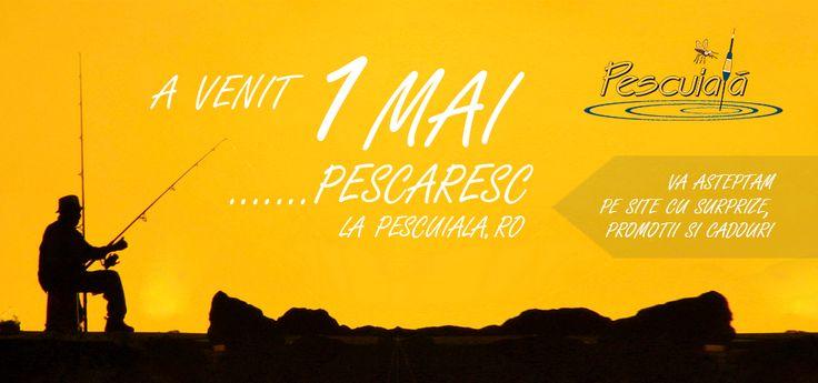 1 Mai Pescaresc - La Pescuiala.ro http://goo.gl/Hs0TW4
