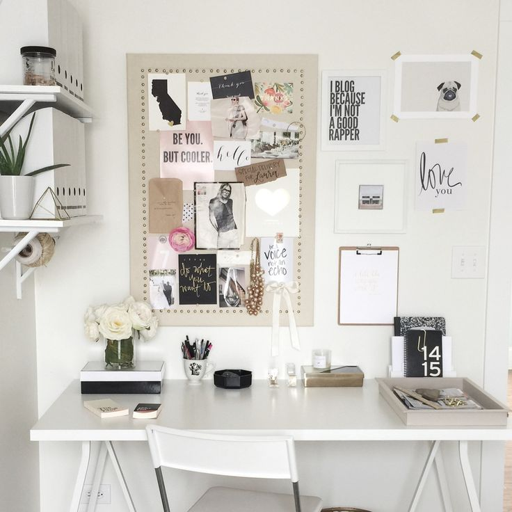 Find This Pin And More On Office Room Decor Ideas + Workspaces.