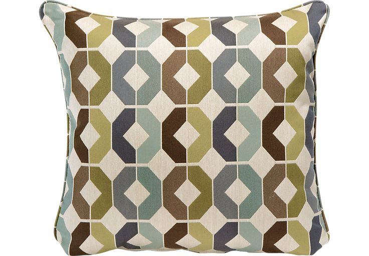 picture of iSofa Statesville Teal Accent Pillows (Set of 2) from  Furniture