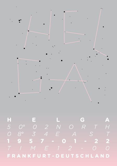 Name constellations - Michela's portfolio