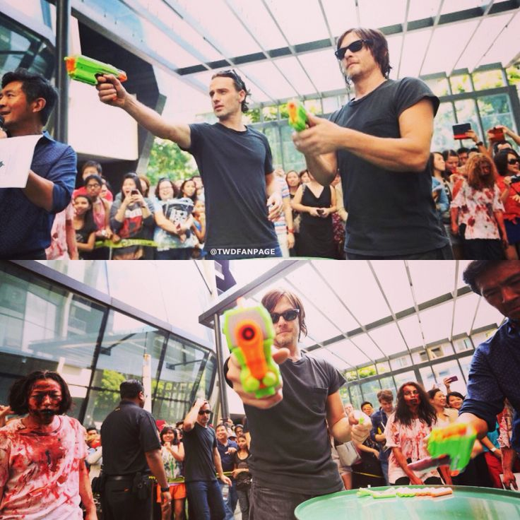 Norman and Andrew! REPIN if you love these two!