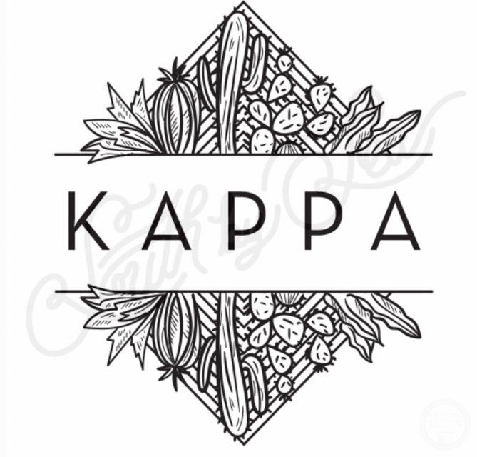 kappa kappa gamma kkg cactus t shirt design southwest t shirt