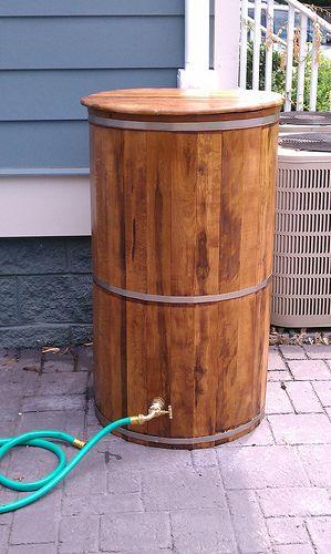 25 best ideas about rain water barrel on pinterest for Diy small rain barrel
