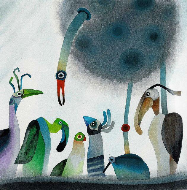 非洲鳥 by 吳孟芸, via FlickrBirds Art, Best Friends, Drawing Flock Of Birds, Memories Friends, Friends Memories, Beautiful Birds, Friends Friends, Birds Of Paradise, Flickr Well