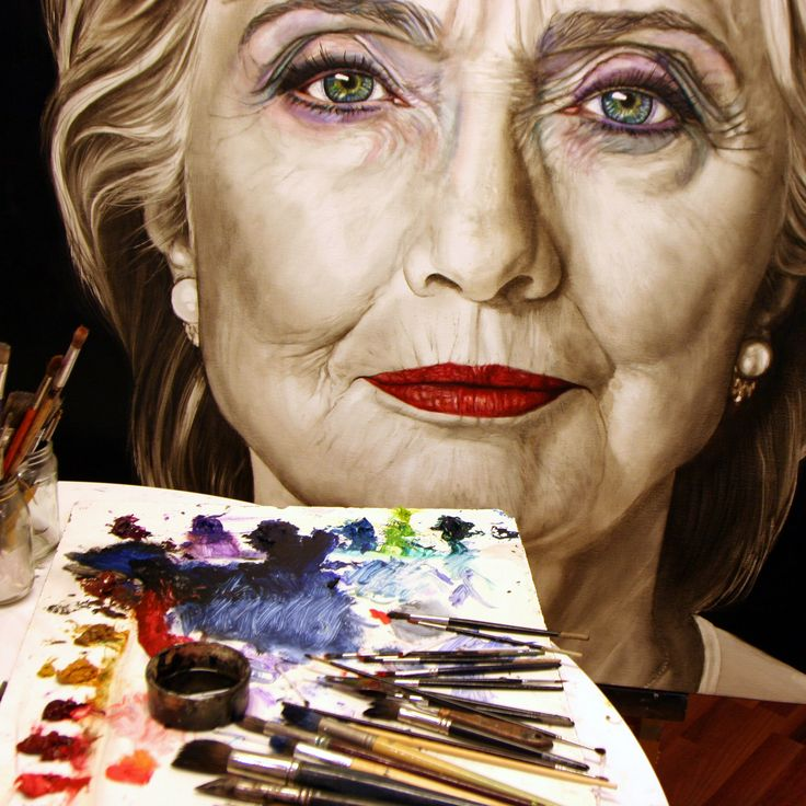 Yesterday I put some lipstick #HillaryClinton, oil paint on linen 120x120 While the whole world is counting down till November 8, I decided to contribute to the presidential battle by portraying both Clinton and Trump. On the 10th of September I started of both candidates and I aim to finalize their portraits by election day. I will post timelapse videos to keep you updated Please like and share my videos Subscribe to my YouTube channel…