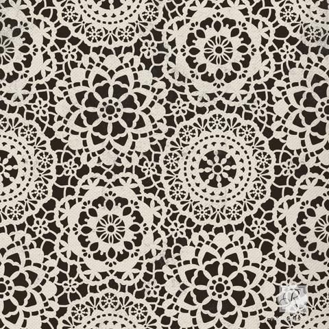 Vintage lace or spiderweb craft stencils for DIY chic classic Halloween party decorations