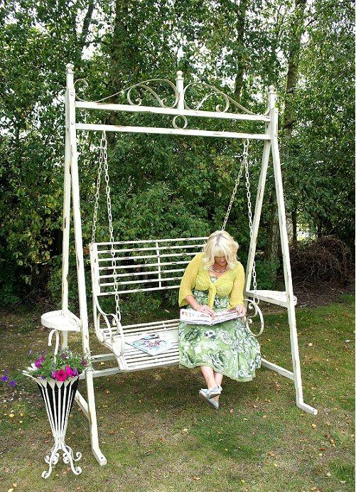 #Romantic #Metal #Garden #Swing Seats