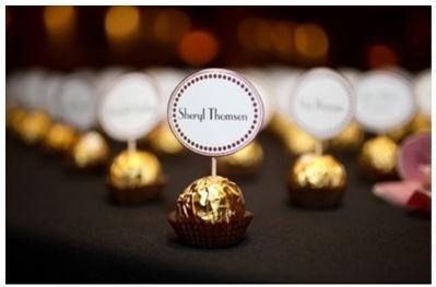 Chocolate Namecards