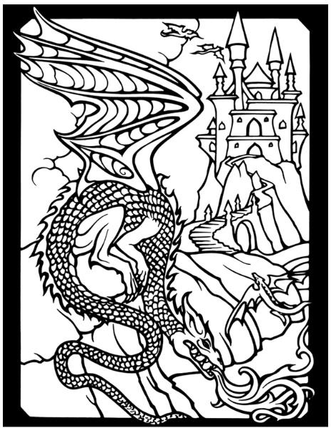 dragon city coloring pages - 20 best ideas about coloring dragons on pinterest