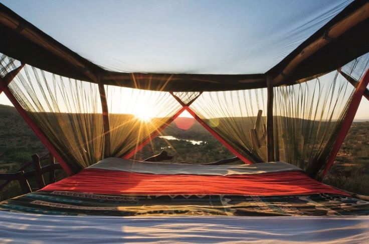 """@Loisaba Wilderness, Kenya: the two Star Bed camps landed this lodge on @Conde Nast Traveler's """"Nine Amazing Outdoor Hotel Suites"""""""