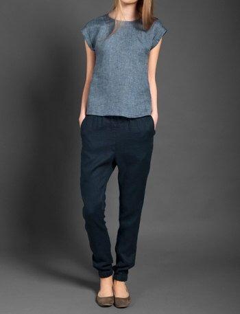 READY TO SHIP – Linen women Trousers, Pure linen trousers, Linen Summer, Spring Trousers, Linen clothing, Linen clothes