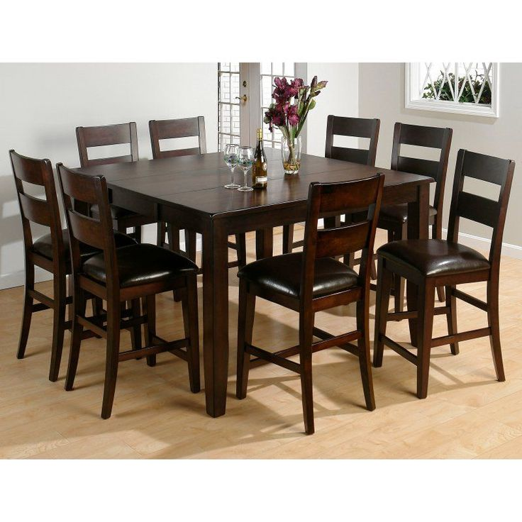 Dark Rustic Prairie Counter Height Butterfly Leaf Dining Table With Hand Hewn Corners Burnished Edges And Rugged Scale By Jofran At Reeds Furniture