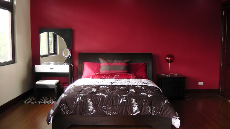 17 best images about bedroom ideas on pinterest red for Maroon bedroom designs