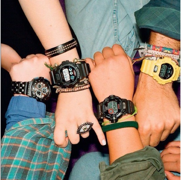 1990s G-Shock Watches    Source: Men's Fashion Fix