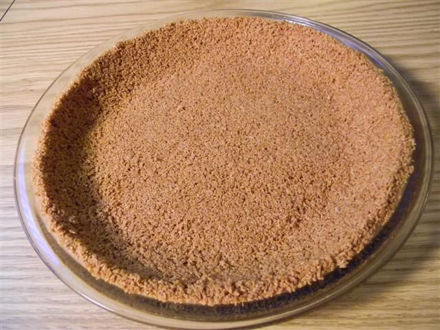 This could be considered a mock graham cracker crust, but it's made of gluten-free Chex® cereal. This crust is a good basic for pies. It's great that a totally gluten free crust tastes this good. 6...