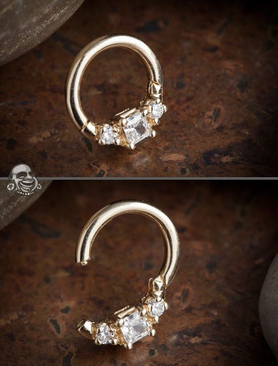 septum jewelry by Maria Tash available at Body Art Forms