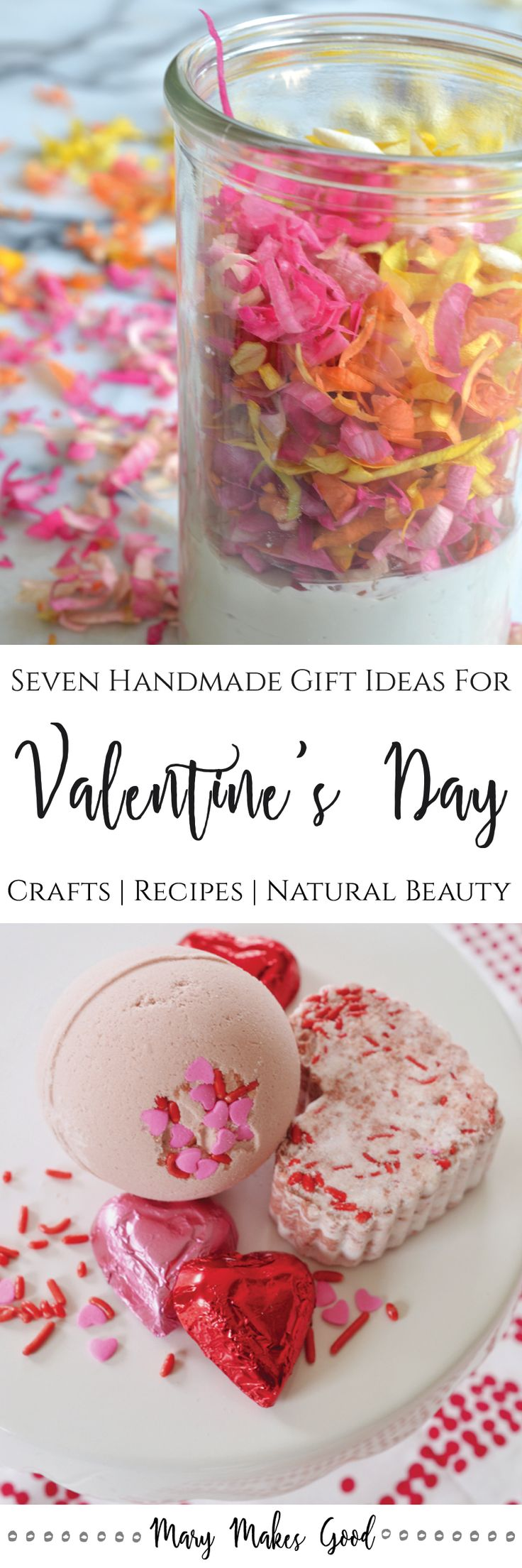 Seven Handmade Gift Ideas for Valentines Day