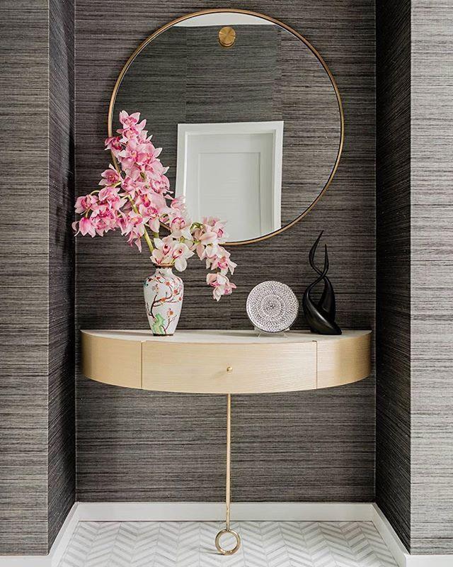 shop this instagram from tilebar - Mirror Tile Castle Ideas