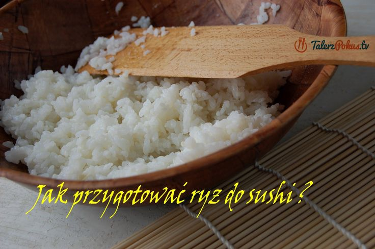 Jak przygotować ryż do sushi ? - TalerzPokus.tv