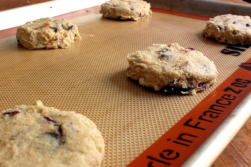 Crazy Delicious Egg-Free Cookies. I just made these and they ARE crazy and delicious!