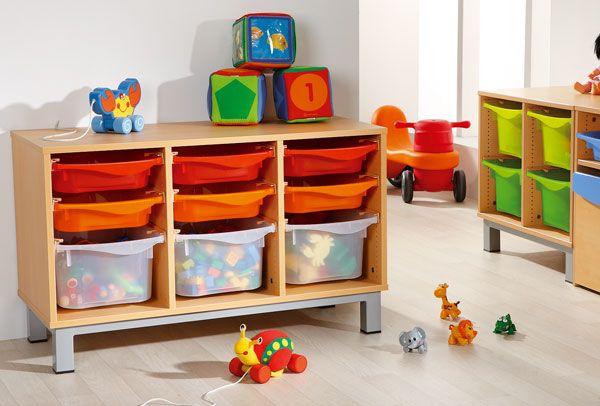 meubles bacs amovibles pour ranger et d placer facilement les jeux le mat riel de classe ou