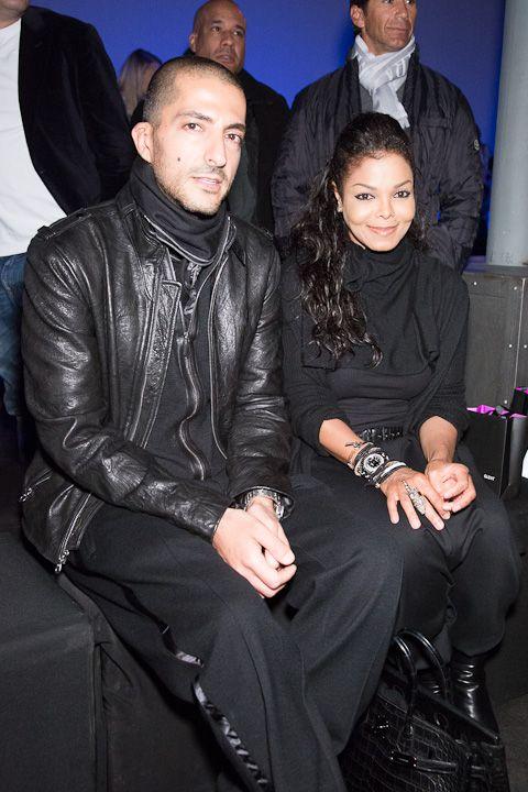 Hot Shot: Janet Jackson and Wissam Al Mana at Kira Plastinina Fashion Show | The Mint Tea