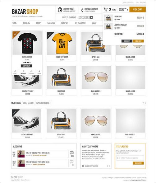 Mulitpurpose e commerce site