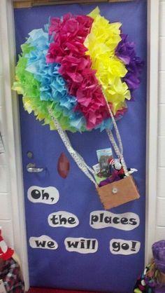 Dr. Seuss classroom door!   bulletin boards   Pinterest