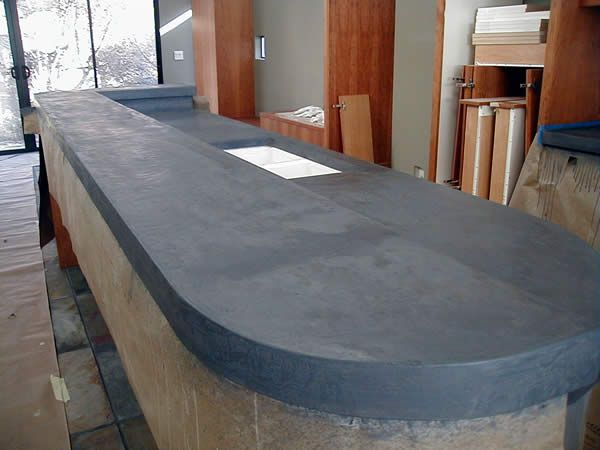 Cast In Place Concrete Countertops Forms Mixes Tools And